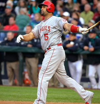 Albert Pujols hit 522nd home run