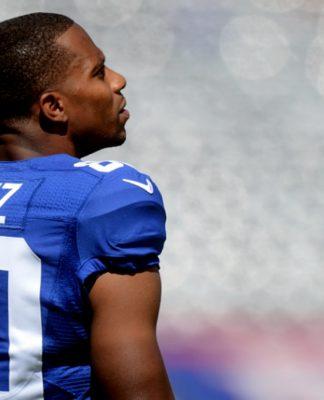 Victor Cruz The Giants
