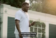 David Ortiz Becomes Tennis Instructor