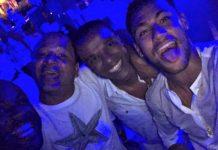 Neymar Rings In New Years In South Africa