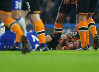Hull City's Ryan Mason Hospitalized After Sufering Skull Fracture