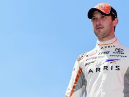 Daniel Suarez Doing Big Things with Subway at Auto Club 400