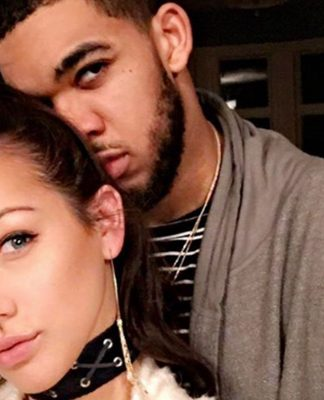 Karl-Anthony Towns Dating Fitness Model Kawahine Andrade
