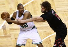 Robin Lopez on Becoming a Bulls Scorer Against Celtics