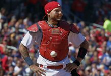 St. Louis Cardinals Auction Off Yadier Molina Sticker Ball