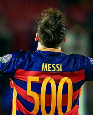 Lionel Messi Racks up His 500th Career Goal