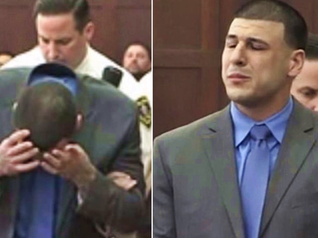 What Aaron Hernandez Wrote in Suicide Letter to Fiancée