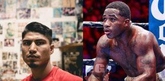 Adrien Broner vs. Mikey Garcia Catch-weight fight