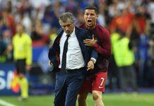Fernando Santos Doesn't Understand Cristiano Ronaldo Criticism