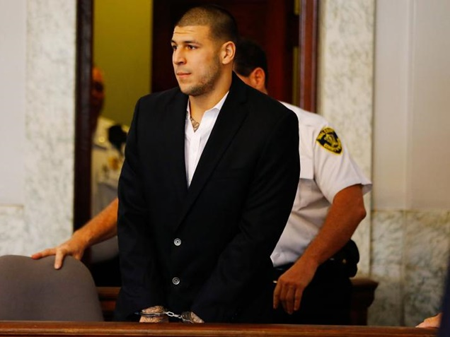 Aaron Hernandez Cleared of Conviction Charges