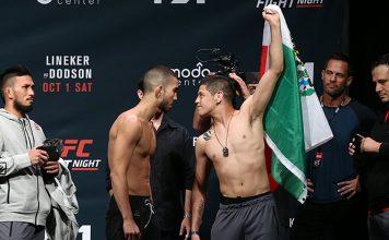 Sergio Pettis vs. Brandon Moreno Headline UFC Fight Night 114