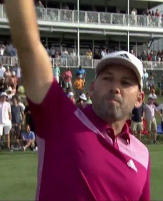 Sergio Garcia Makes Golfing History For Latinos