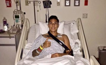 Mexico Defender Carlos Salcedo Recovering After AC Joint Surgery