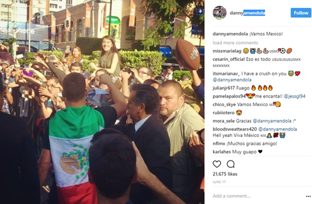 Patriots Danny Amendola Paves Way for NFL Success in Mexico