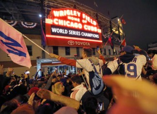 Cubs Clinched Title