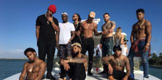 New York Giants Partying in Miami Goes Viral