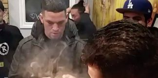Nick and Nate Diaz Smoke $2000 Weed Filled UFC Gloves
