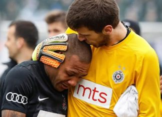 Everton Luiz Leaves Field in Tears Over Racist Abuse