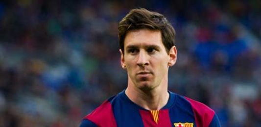 Lionel Messi For Suspended 4 Games