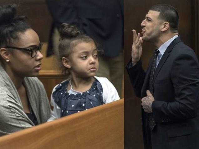 Aaron Hernandez fiancee Suing Prison Over Suicide Letters