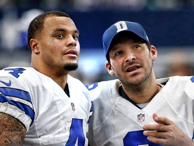 Tony Romo On Being Replaced by Dak Prescott