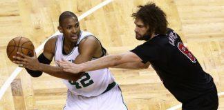 Robin Lopez on Becoming a Bulls Scorer Against Celtics