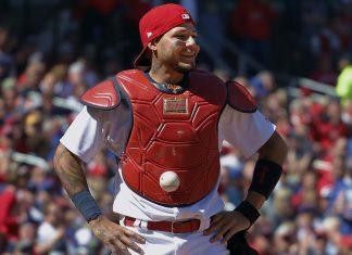 St. Louis Cardinals Auction Off Yadier Molina Sticker Ball