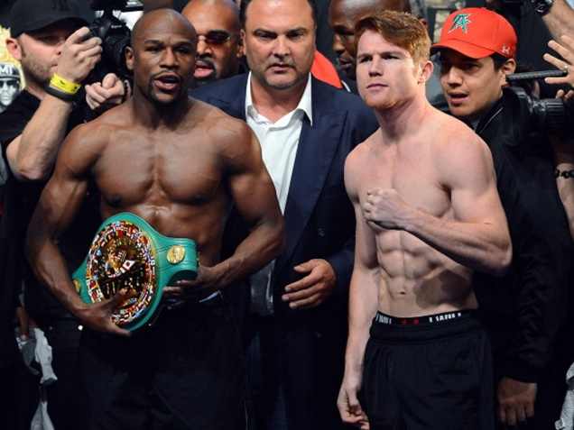 Floyd Mayweather Weighs in on Canelo vs Golovkin Fight