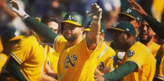 Alonso Yonder Dedicates Playing For The A's #TheOaklandWay