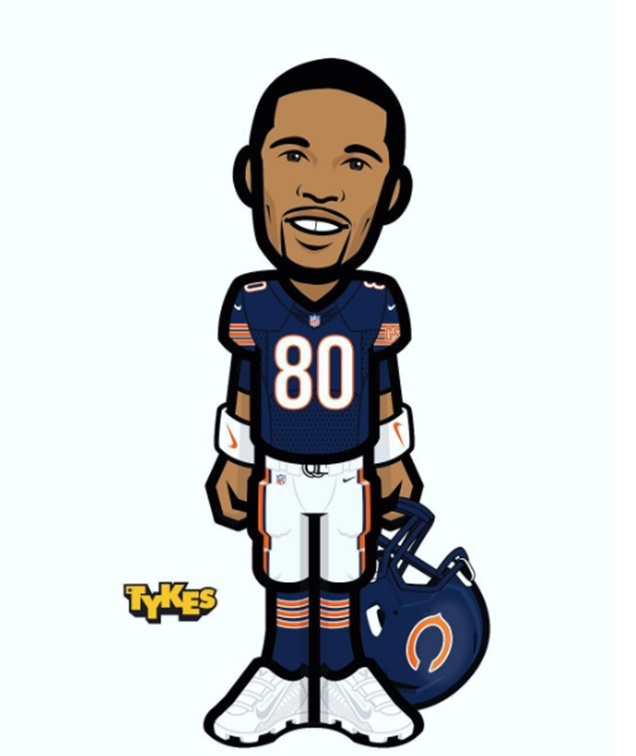 Bears Coach John Fox Believes in Victor Cruz Savvy
