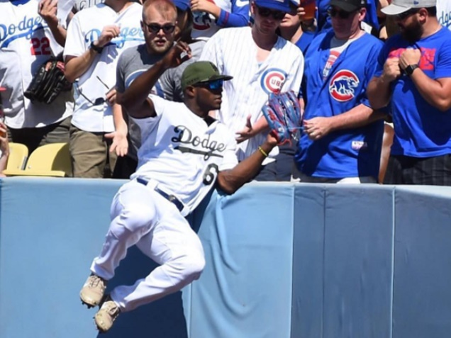 Yasiel Puig Suspended Over Double Middle-finger Salute