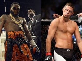 Adrien Broner Wants Nate Diaz Undercard at Floyd vs McGregor Fight