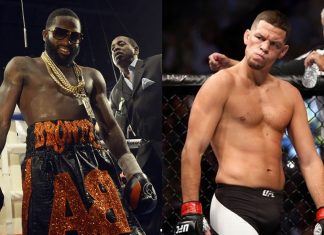 Adrien Broner Wants Nate Diaz Undercard at Floyd vs McGregor Fight