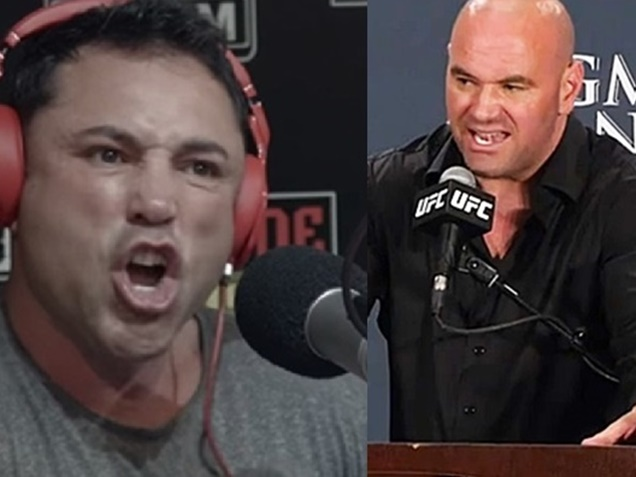 Oscar De La Hoya, Dana White Feuding Over Floyd vs Conor Fight