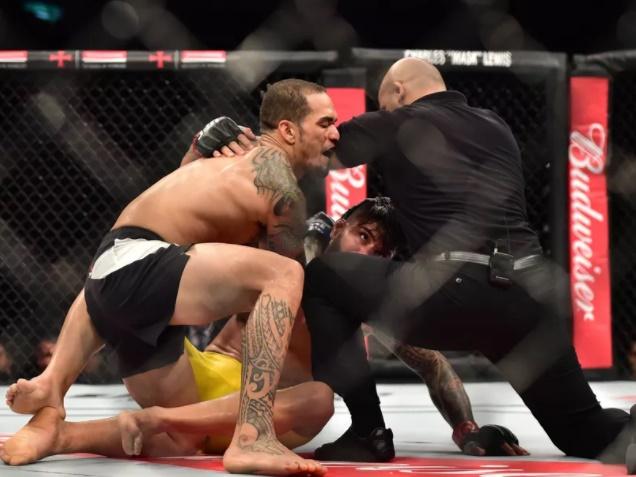 Erick Silva Appealing UFC 212 Yancy Medeiros TKO Loss