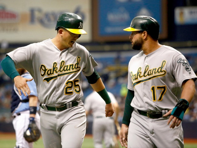 Yonder Alonso Takes Blame For Decisive Play Against Tampa