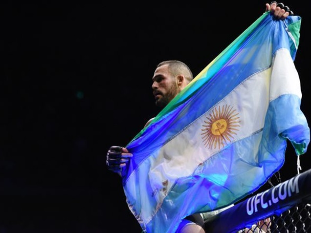 Santiago Ponzinibbio KOs Gunnar Nelson in 90 Seconds