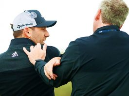 Sergio Garcia Injures Shoulder After Angry Swing