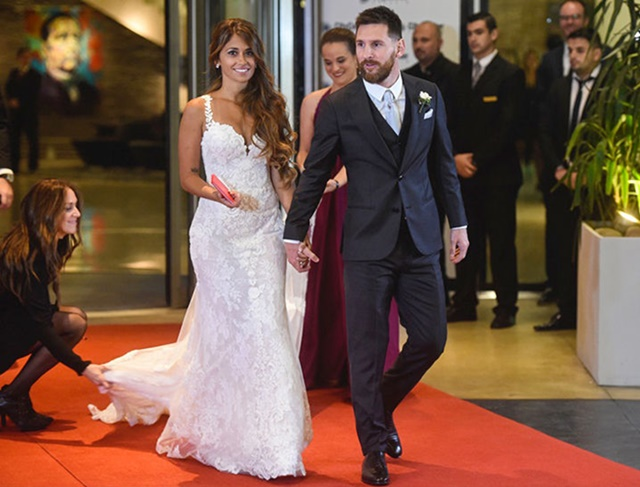 Lionel Messi Wedding Brings Out Big Names