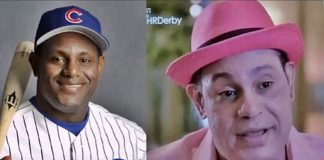 Sammy Sosa is 50 Shades Lighter