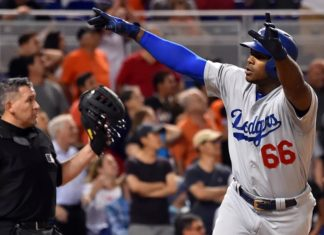 Yasiel Puig Saves The Dodgers with Game Winning Home Run