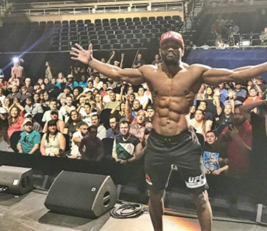 Yoel Romero Shows Off The Whole Package at UFC 213