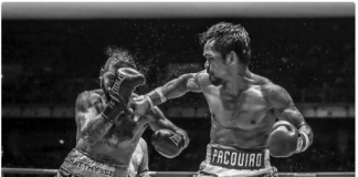 Manny Pacquiao knocked out Lucas Matthysse to win his 22nd professional boxing title.